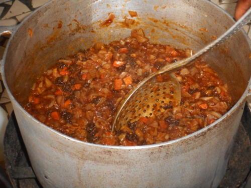 s'ensuit un délicieux thieb,(riz au poisson) plat national sénégalaise (2)