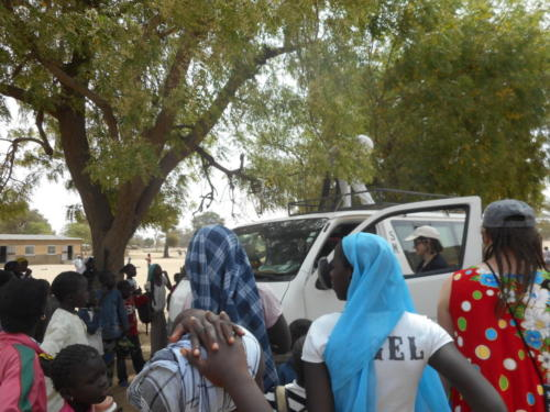 visite de l'école de M'Balakahté (1)
