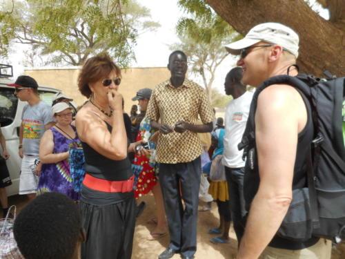 visite de l'école de M'Balakahté (2)